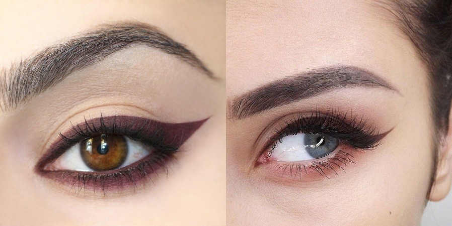 Colored Eyeliner Looks, Colored Eyeliner Looks: Ways To Style Them
